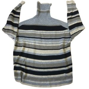 Lou & Grey Sweaters - Lou & Grey Striped Turtleneck Sweater Size M